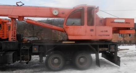 Продаем автомобильный кран Ульяновец МКТ-25.1 на шасси КАМАЗ 53215, 2006 г.в. Ме. Киев, Киевская область. фото 6