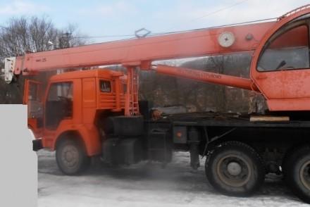 Продаем автомобильный кран Ульяновец МКТ-25.1 на шасси КАМАЗ 53215, 2006 г.в. Ме. Киев, Киевская область. фото 5