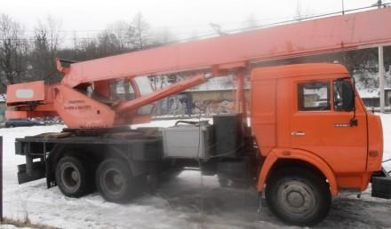 Продаем автомобильный кран Ульяновец МКТ-25.1 на шасси КАМАЗ 53215, 2006 г.в. Ме. Киев, Киевская область. фото 4
