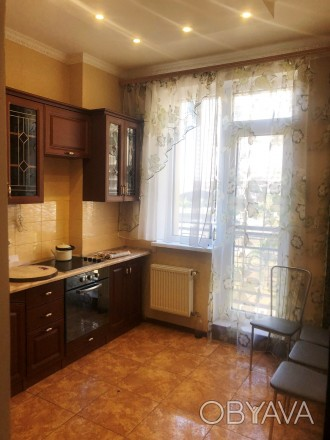 Сдам 1-комн.кв. в новострое на Таирова, 2 этаж, евроремонт, вся необходимая мебе. Таирова, Одесская область. фото 1