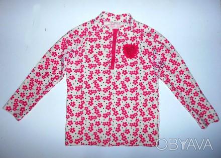 Гидромайка детская эластичная футболка с рукавом