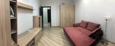 В квартире есть вся необходимая мебель и бытовая техника. Лоджия из кухни 9 м2.. Киевский, Одесса, Одесская область. фото 5