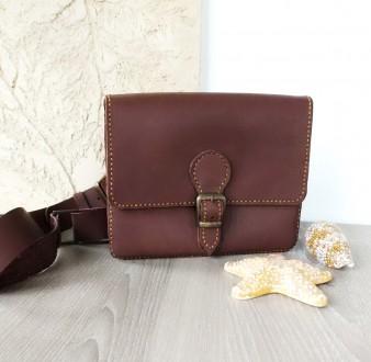 Поясная сумка ′ унисекс′ подойдет всем. Выполнена ручным швом из натуральной пло. Одесса, Одесская область. фото 3