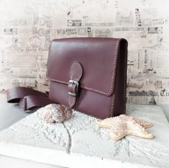 Поясная сумка ′ унисекс′ подойдет всем. Выполнена ручным швом из натуральной пло. Одесса, Одесская область. фото 2