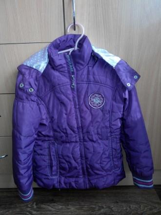 Куртка демисезонная (Венгрия), примерно на 6 лет. Лозовая. фото 1