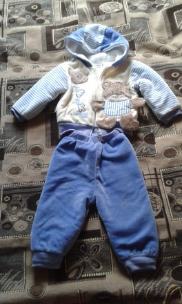Теплый костюмчик bimbalo baby. Богодухов. фото 1