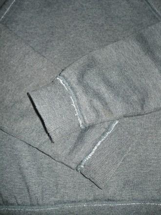 Худи One by One Размер - 128 Цвет - тёмно серый. Состав: 70% хлопок, 30% поли. Херсон, Херсонская область. фото 9