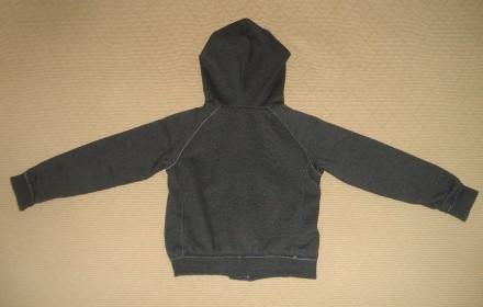 Худи One by One Размер - 128 Цвет - тёмно серый. Состав: 70% хлопок, 30% поли. Херсон, Херсонская область. фото 7