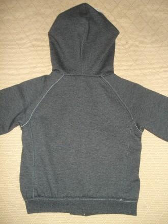 Худи One by One Размер - 128 Цвет - тёмно серый. Состав: 70% хлопок, 30% поли. Херсон, Херсонская область. фото 8