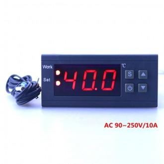 Терморегулятор MH1210W цифровой высокоточный программируемый 10A 2кВт. Николаев. фото 1
