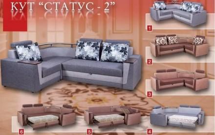 Габаритные размеры Длина дивана-255.0(см) Глубина дивана-185.0(см) Высота пос. Чернигов, Черниговская область. фото 4