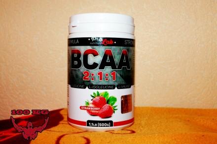 Аминокислоты ProLab BCAA 2:1:1    500 г 269грн. Миргород. фото 1