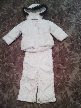 Куртка+комбез на девочку 1-2 года. Каменское. фото 1