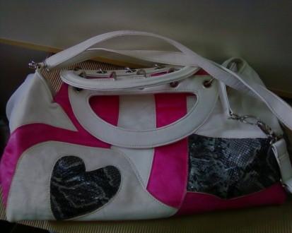15ceaaf5874a Продам красивую белую летнюю сумку.Б/У, в отличном состоянии. Длина 40