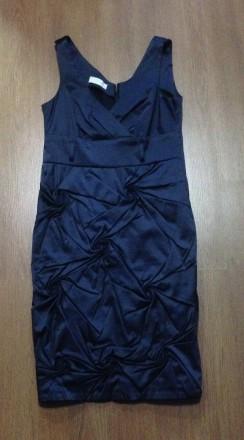 Платье темно-синего цвета. Киев. фото 1