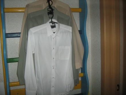Школьные рубашки 3 шт. Киев. фото 1