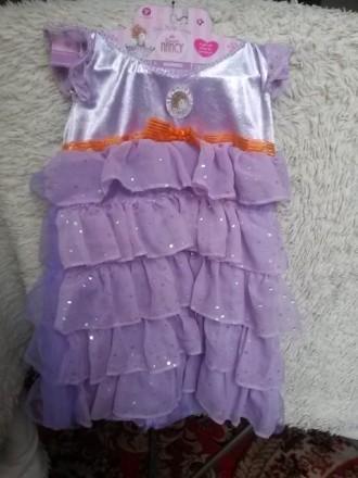 Нарядное платье для девочки 3-6 лет фирма Fancy Nancy производство США. Одесса. фото 1