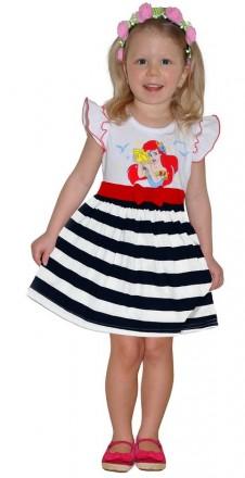 Платье с русалкой Ариэль на рост 110-122 см. Житомир. фото 1