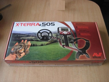 """Металошукач X-Terra 505 Новий Гарантія 2 роки Котушка 10,5"""" DD 7,5 кГц.  Зах. Самбор, Львовская область. фото 5"""