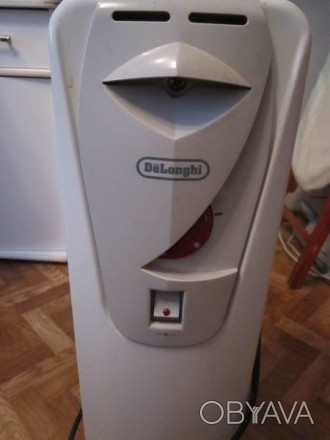 Масляный радиатор Delonghi H 190715 M Мощность: 1500 Вт,  Количество секций: 7. Чернигов, Черниговская область. фото 1