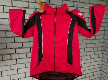 Велокуртка CRIVIT Sports ветро-влагостойкая. Запорожье. фото 1