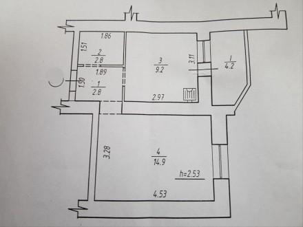 Продам 1 комнатную квартиру в Новом доме ул. Интернационалистов( р-н Озера).  . 12-й микрорайон, Сумы, Сумская область. фото 4