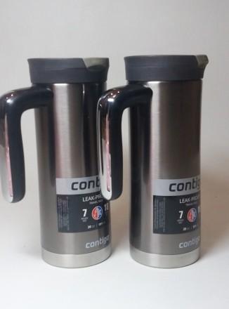 Велика (591 мл) термокружка SnapSeal Superior  від американського бренду Contigo. Николаев, Николаевская область. фото 2