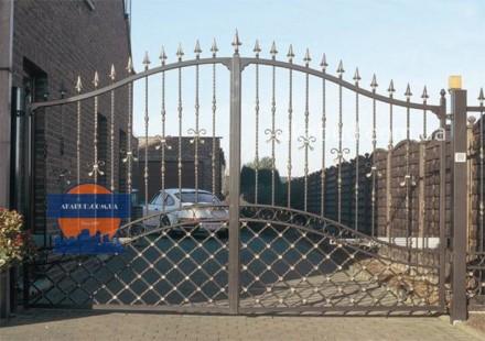 Предоставляем услуги по изготовлению: -Кованых ворот; -Калиток;  -Ворот с про. Кривой Рог, Днепропетровская область. фото 2