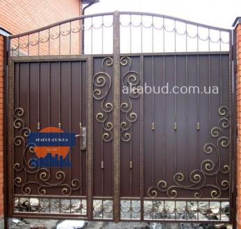Предоставляем услуги по изготовлению: -Кованых ворот; -Калиток;  -Ворот с про. Кривой Рог, Днепропетровская область. фото 3