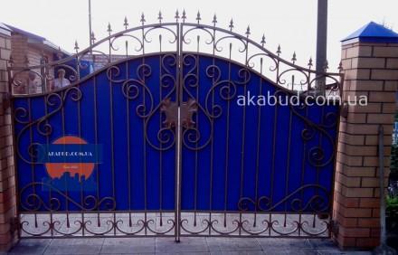 Предоставляем услуги по изготовлению: -Кованых ворот; -Калиток;  -Ворот с про. Кривой Рог, Днепропетровская область. фото 5