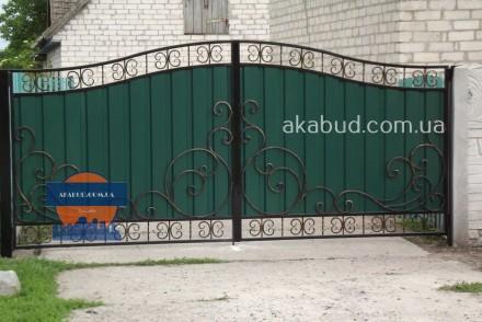 Предоставляем услуги по изготовлению: -Кованых ворот; -Калиток;  -Ворот с про. Кривой Рог, Днепропетровская область. фото 7