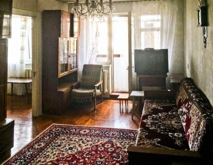 Продается 2-х комнатная квартира, на пятом этаже, в пятиэтажном панельном доме п. ЮТЗ, Николаев, Николаевская область. фото 2