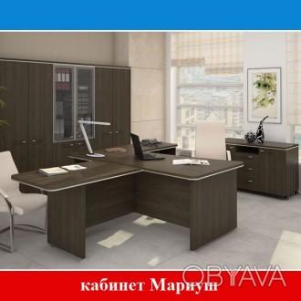 Кабинет руководителя Мариуш, стол руководителя, офисная мебель
