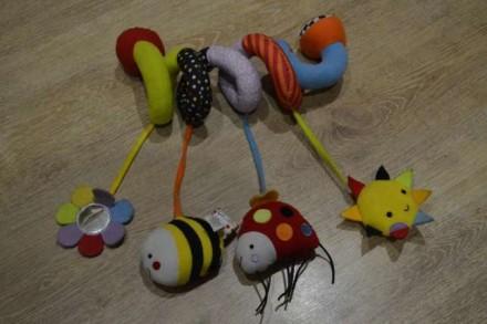 Детская игрушка - спиралька. Стрый. фото 1