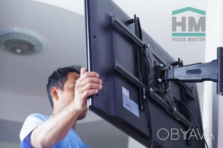 Установка телевизора. Монтаж телевизора LCD, LED, плазменного на стену