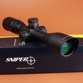 Оптический прицел Sniper 3-9X40 с подсветкой, блокировкой и усиленными кольцами. Киев. фото 1