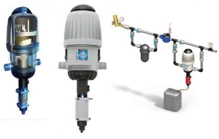 Дозатор (медікатор) для дозованої подачі рідких речовин у воду. Львов. фото 1