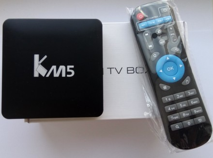 Tv Box Videostrong KM5 (S905X,1/8 GB, bluetooth, Android 6). Киев. фото 1