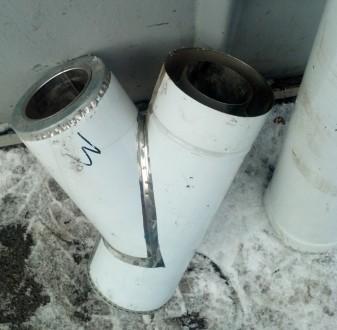Модульний димоход. Підходять для газових та твердопаливних котлів , для каміна ,. Киев, Киевская область. фото 4