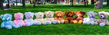 Мягкая Игрушка, Плюшевый Мишка, Большой Мишка, Плюшевый медведь от фабрики Отли. Киев, Киевская область. фото 10