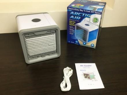 Мини-кондиционер Arctic Air Cooler - это переносной, компактный кондиционер, кот. Запорожье, Запорожская область. фото 5