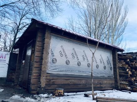Беседка со сруба, в отличном состоянии. Для летнего и зимнего время провождения . Кривой Рог, Днепропетровская область. фото 3