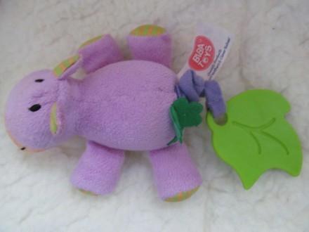 Продам игрушку ослик BIBA TOYS в очень хорошем состоянии. Когда потянуть за хвос. Полтава, Полтавская область. фото 2