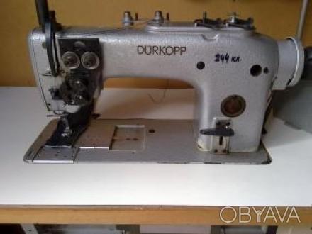 Швейная машина, машинка Durkopp/Дюркоп-244 класс. Двухигольная 6.4 мм. Увеличенн