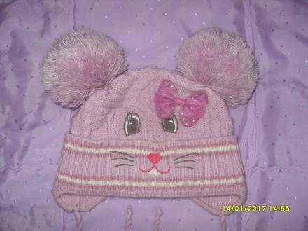 Продам дитячі шапочки (для дівчинки 2-5 р.) в ідеальному стані. Кожна - по 80 гр. Львов, Львовская область. фото 4