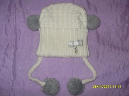 Продам дитячі шапочки (для дівчинки 2-5 р.) в ідеальному стані. Кожна - по 80 гр. Львов, Львовская область. фото 2