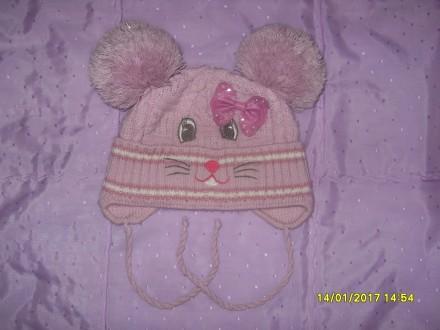 Продам дитячі шапочки (для дівчинки 2-5 р.) в ідеальному стані. Кожна - по 80 гр. Львов, Львовская область. фото 3