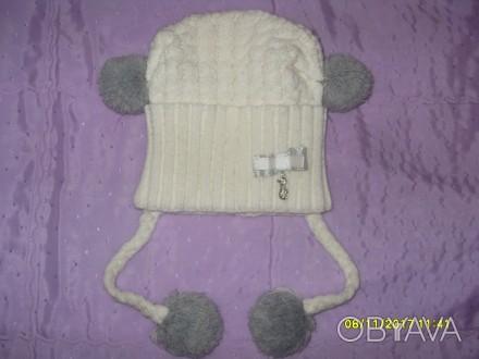 Продам дитячі шапочки (для дівчинки 2-5 р.) в ідеальному стані. Кожна - по 80 гр. Львов, Львовская область. фото 1