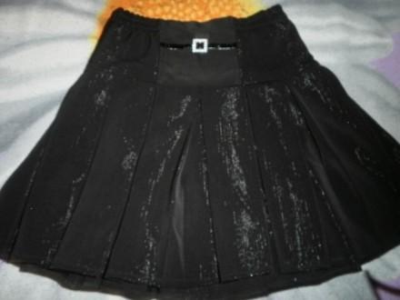 продам юбку школьную черную р128. Харьков. фото 1