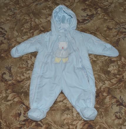 Комбинезон детский утепленный голубой. Киев. фото 1